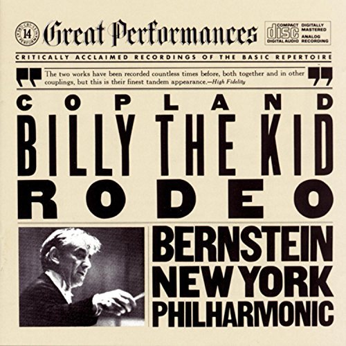 A. Copland Billy Rodeo Bernstein New York Po