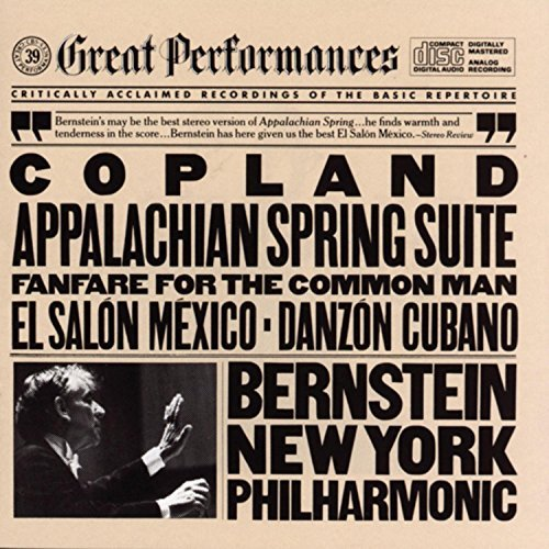 A. Copland Appalachian Danzon Salon Mexic Bernstein New York Po