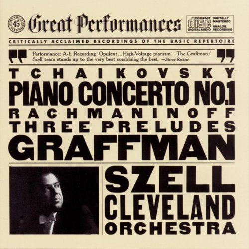 Tchaikovsky Rachmaninoff Con Pno 1 Preludes (3) Graffman*gary (pno) Szell Cleveland Orch