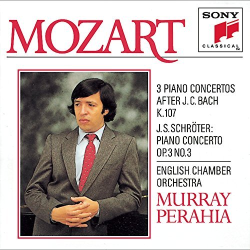 Mozart Schroter Concerto No 3 Perahia*murray (pno) English Co