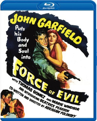 Force Of Evil (1948) Garfield Gomez Windsor Blu Ray Ws Bw Nr