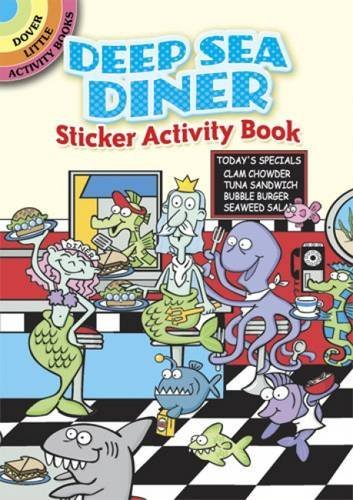 Susan Shaw Russell Deep Sea Diner Sticker Activity Book