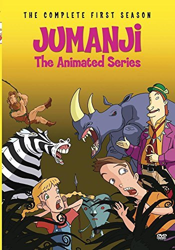 Jumanji The Animated Series Jumanji The Animated Series DVD Mod This Item Is Made On Demand Could Take 2 3 Weeks For Delivery