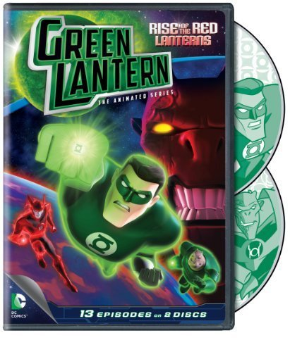 Rise Of The Red Lanterns Seas Green Latern Animated Series Nr