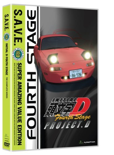 Stage 4 S.A.V.E. Initial D Tvpg 4 DVD
