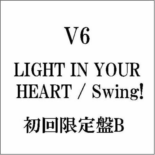 V6 Light In Your Heart Swing! Import Jpn Lmtd Ed. Incl. Bonus DVD