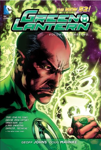Geoff Johns Green Lantern Volume 1 Sinestro