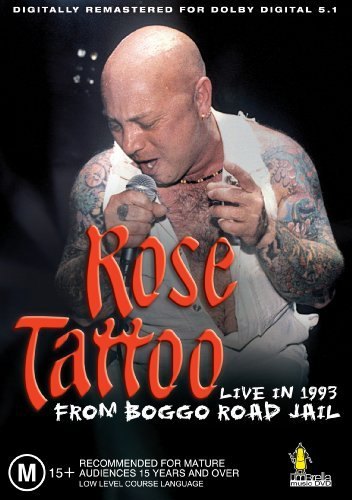 Rose Tattoo Live In 1993 From Boggo Road J Nr