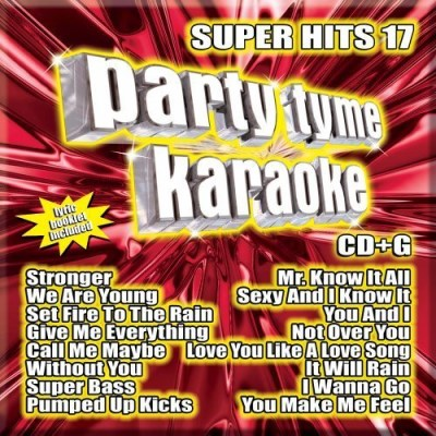 Party Tyme Karaoke Super Hits 17 Incl. Cdg