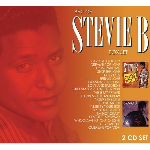 Stevie B Mega Dance Classic & Love Song 2 CD