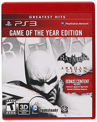 Ps3 Batman Arkham City Game Of The Year