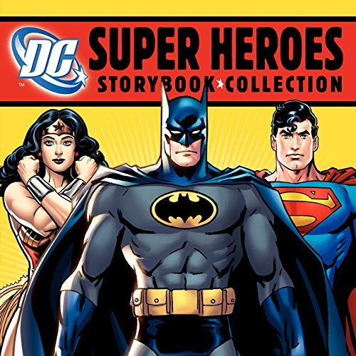 Various Dc Super Heroes Storybook Collection 7 Books In 1 Hardcover