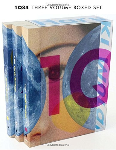 Haruki Murakami 1q84 3 Volume Boxed Set