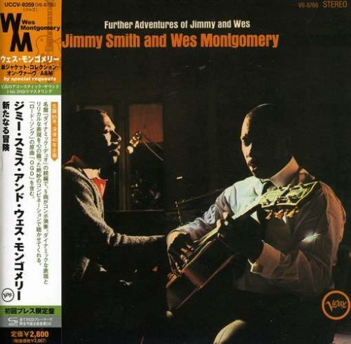 Jimmy Smith Further Adventures Of(& Wes Mo Import Jpn Lmtd Ed. Paper Sleeve