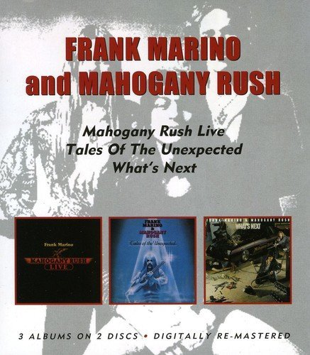 Marino Frank & Mahogany Rush Live Tales Of The Unexpected W Import Gbr 2 CD 3 On 2
