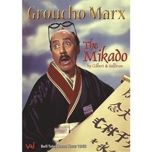 Groucho Marx In The Mikado (gi Marx Traubel Holloway Rounsevi Nr