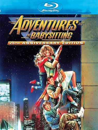 Adventures In Babysitting Shue Brewton Coogan Blu Ray Ws 25th Anniv. Ed. Shue Brewton Coogan