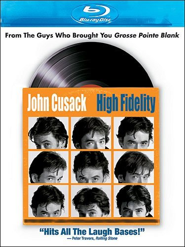 High Fidelity Cusack Hjejle Black Blu Ray R