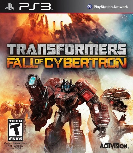 Ps3 Transformers Fall Of Cyber Activision Inc. T