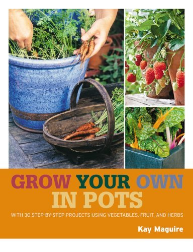 Kay Maguire Grow Your Own In Pots With 30 Step By Step Projects Using Vegetables F