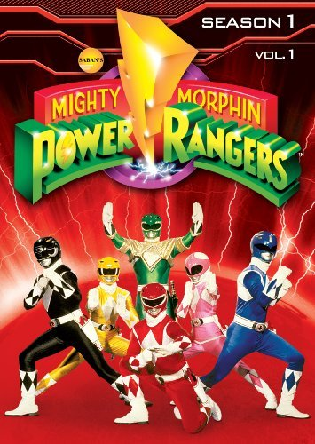 Mighty Morphin Power Rangers Season 1 Volume 1 DVD Tvy7