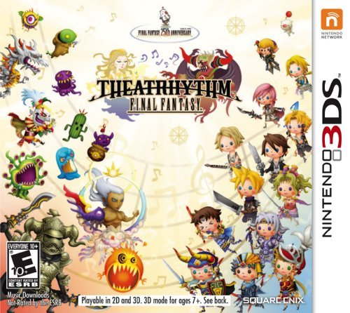 Nintendo 3ds Theatrhythm Final Fantasy Gift W. Purchase Launch Sku Only