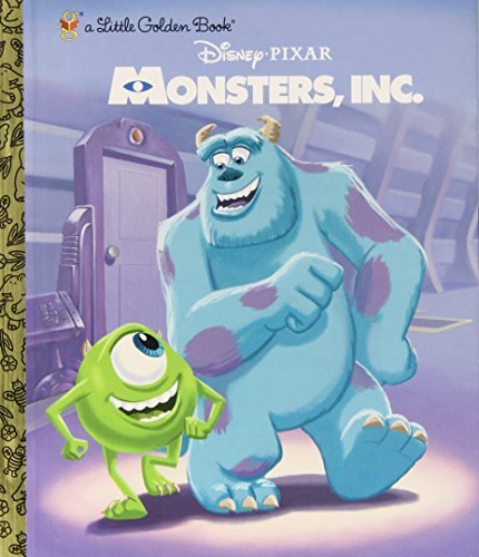 Rh Disney Monsters Inc. Little Golden Book (disney Pixar Mo