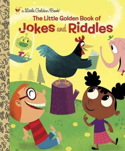 Peggy Brown The Little Golden Book Of Jokes And Riddles