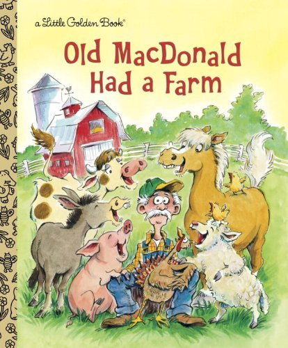 Golden Books Old Macdonald Had A Farm