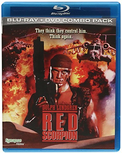 Red Scorpion (1989) Lundgren Walsh James Blu Ray Ws Nr Incl. DVD
