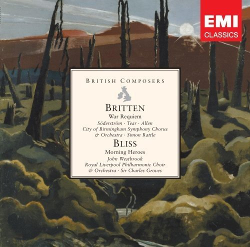 Sir Simon Rattle Sir Charles G Britten War Requiem Bliss Mo Import Eu 2 CD