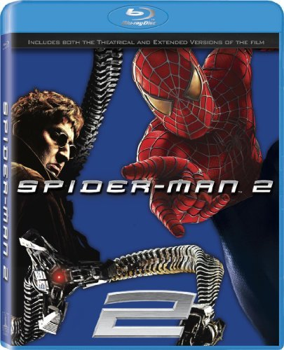 Spider Man 2 Maguire Dunst Franco Molina Blu Ray Ws Ur Incl. Movie Ticket