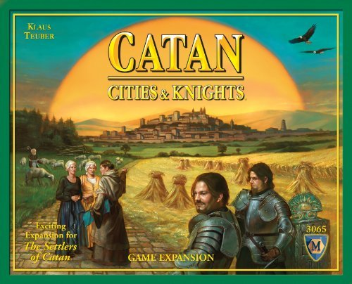 Board Game Settlers Of Catan Cities & Knights Game Expansion