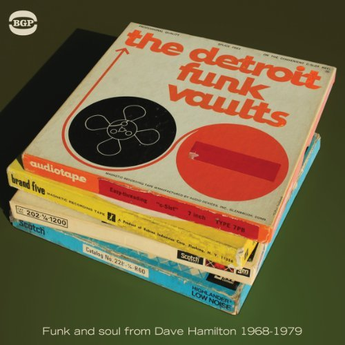 Detroit Funk Vaults Ghetto Funk & Soul From Dave H Import Gbr