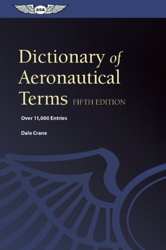 Dale Crane Dictionary Of Aeronautical Terms 0005 Edition;