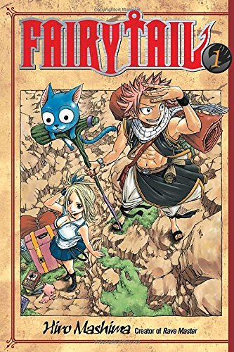 Hiro Mashima Fairy Tail V01