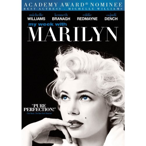 My Week With Marilyn Williams Redmayne Branagh Limited Edition DVD Audiobook