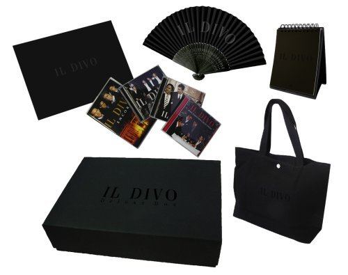 Il Divo Limited Deluxe Box Import Jpn Lmtd. Ed. 3 CD & Bonus DVD