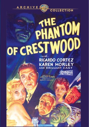 Phantom Of Crestwood (1932) Cortez Morley Made On Demand Nr