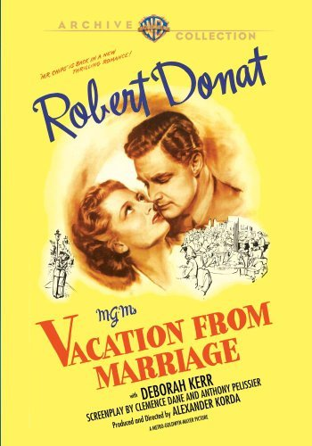 Vacation From Marriage (1945) Donat Kerr Johns DVD Mod This Item Is Made On Demand Could Take 2 3 Weeks For Delivery