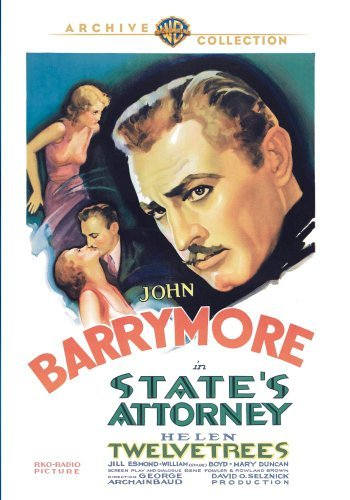 State's Attorney (1932) Barrymore Twelvetrees Esmond DVD Mod This Item Is Made On Demand Could Take 2 3 Weeks For Delivery