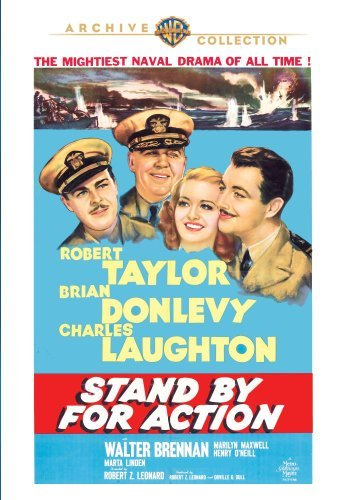 Stand By For Action (1942) Taylor Laughton Donlevy Made On Demand Nr