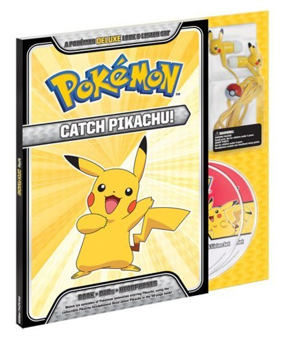 Pikachu Press Catch Pikachu! Deluxe Look & Listen Set