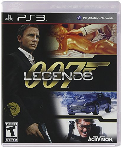 Ps3 007 Legends (move Compatible) Activision Inc. T