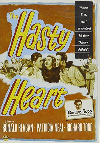 Hasty Heart (1949) Reagan Neal Todd Region 1