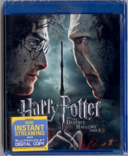 Harry Potter & The Deathly Hallows Pt 2 Radcliffe Grint Watson Blu Ray