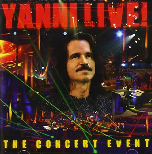 Yanni Yanni Live! The Concert Event 2 Disc Music CD DVD