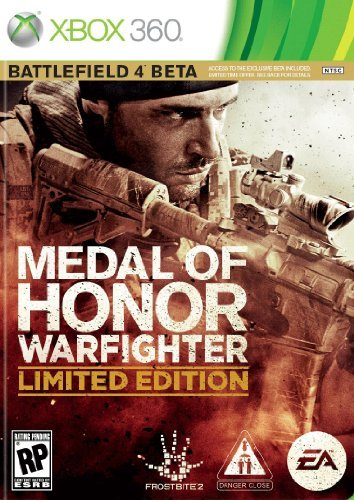 Xbox 360 Medal Of Honor War Fighter Electronic Arts M