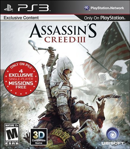 Ps3 Assassin's Creed 3 Ubisoft M