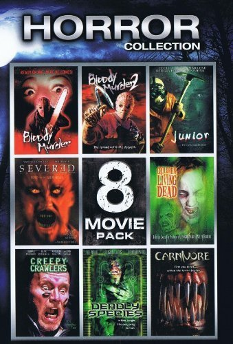 Horror Collection 8 Movie Pack